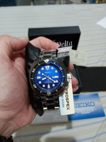 Seiko Prospex SRPD11K1 Turtle Black Save Ocean II special Edition Brand New