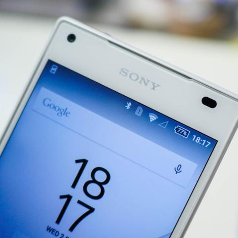 Sony Xperia Z5 Compact - PUTIH