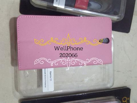Wallet diary case for Sony xperia C5 Original Atta