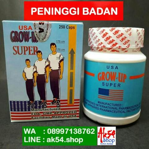 PENINGGI BADAN GROW UP