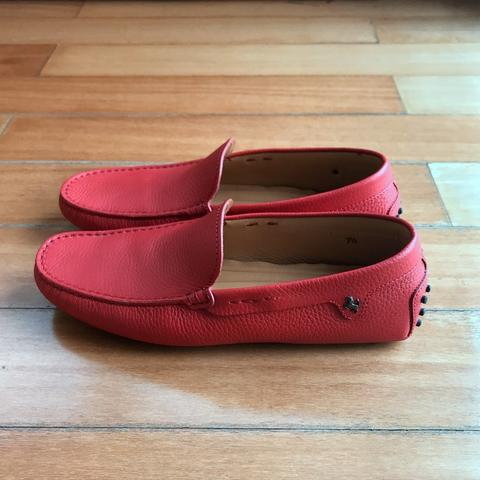 Tods Limited Edition Red Ferrari Loafers