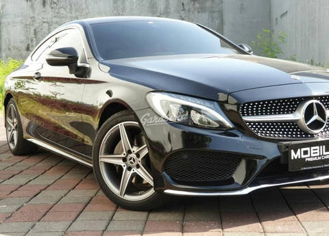 Mercedes C Class Coupe >> Terjual 2017 Mercedes Benz C Class C200 Coupe Amg Mulus Banget