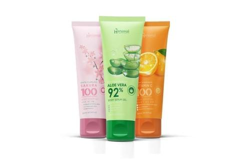 HANASUI BODY SERUM GEL 200 ML 3 VARIAN