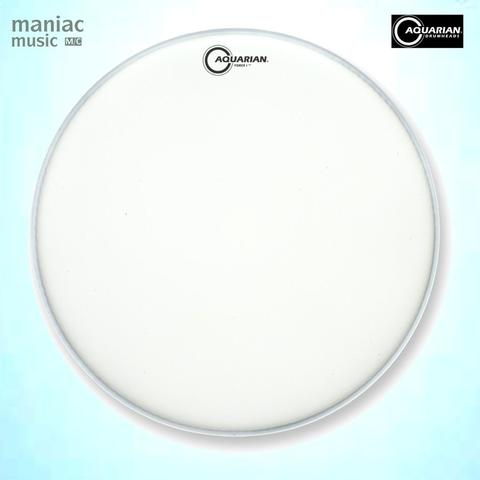 Aquarian TCFB22 (Drum Head, Coated Force I, 22 Inch, Bass, Batter, White, 10 Mil)