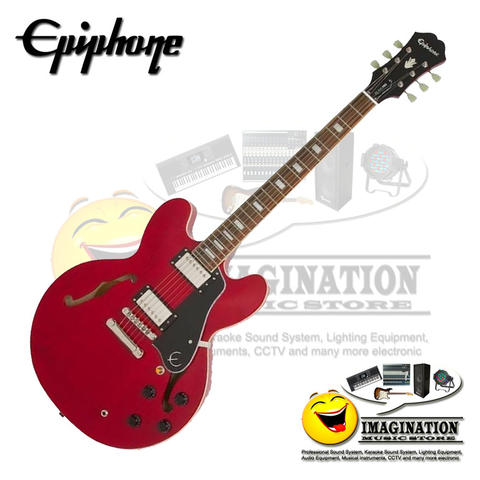 Epiphone ES-335 Pro Limited Edition in Cherry