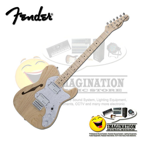 Fender Japan Traditional 70s Telecaster Thinline in Natural