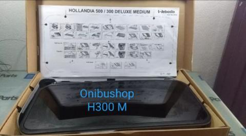 Sunroof Webasto Hollandia 300 Medium Full Set