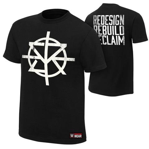 Seth Rollins Redesign Authentic T-Shirt WWE Baju Import