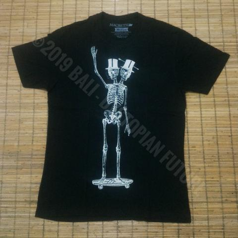 T-shirt Macbeth - Two Headed Skeleton