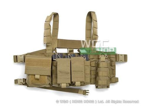 Pro Arms Recon Tactical Chest Rig Gen.1 Coyote Brown - Rompi Airsoft