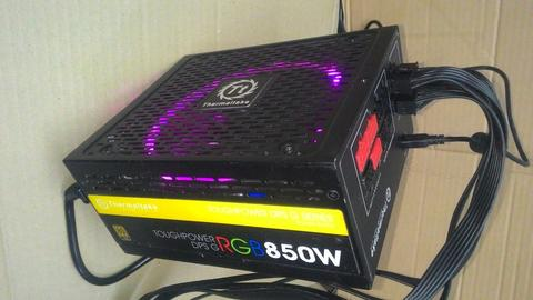 PSU THERMALTAKE TOUGHPOWER DPS G RGB 850 WATT GOLD 80 PLUS