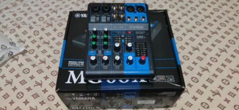 MIXER YAMAHA ORIGINAL MG06X LIKE NEW