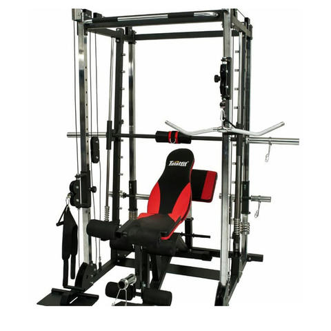 Power Rack Bench Press