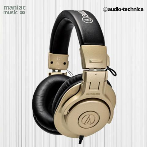 Audio Technica ATH M30X CG (Studio Headphones, Monitoring, Mixing, Gold, 40 MM)