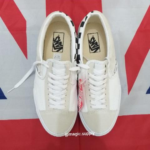 Vans Slip on Cut and Paste