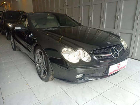 2002 Mercedes Benz Sl Convertible KM Rendah Antik