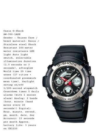 Kredit Tanpa Dp - Casio G-Shock AW-590-1ADR