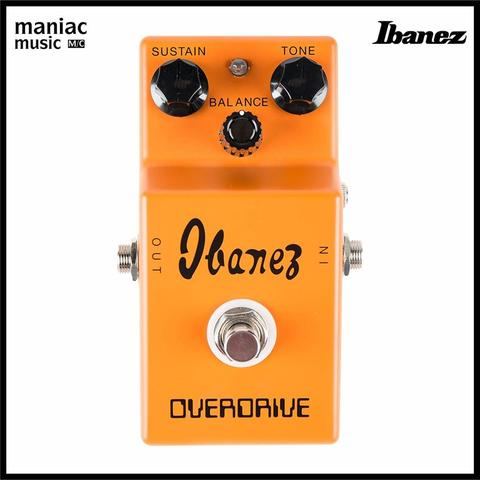 Ibanez OD850 (Efek Gitar, Overdrive, Vintage Fuzz 70S, Japan, Focused High, Effects)
