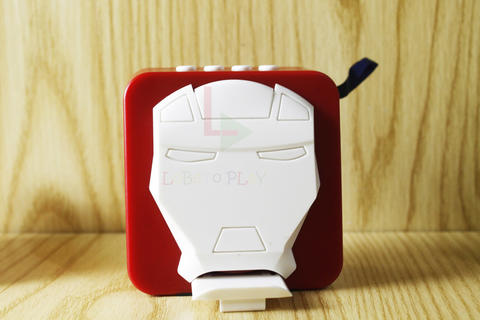 Speaker Bluetooth V3 Wireless model Iron Man