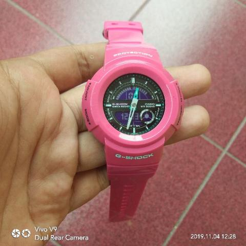 Jam Tangan G Shock AW 582SC Second Original
