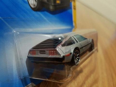 Paket Hotwheels Delorean Back To The Future Collection (2010 - 2011)