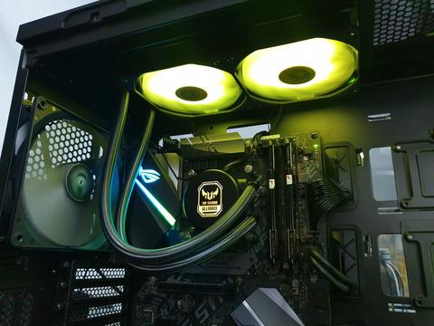 ID-COOLING CPU Cooler | Liquid Water Cooler | Fan RGB | Thermal Paste by BerlianCom