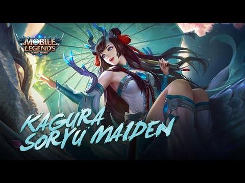 SKIN MOBILE LEGENDS KAGURA SORYU MAIDEN ( SKIN EPIC KAGURA )