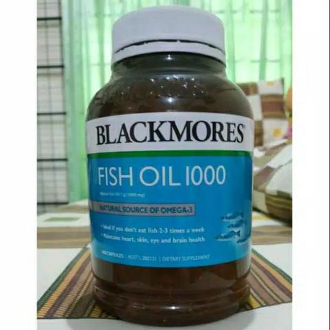 Blackmores Odourless Fish Oil 1000 mg Anti Inflammatory 200 capsule