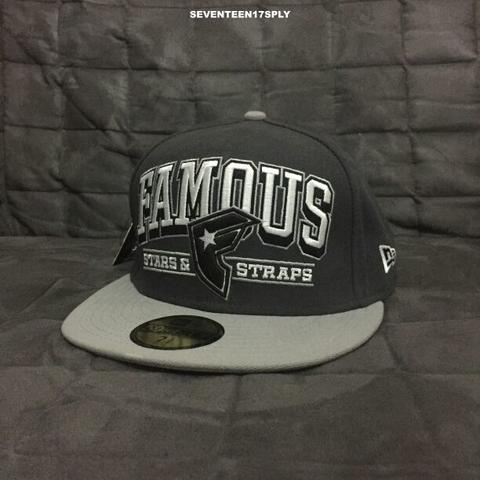 famous stars and straps reign fitted hat newera new ori