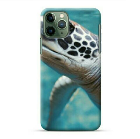 Green Sea Turtle Underwater iPhone 11 Pro Max Custom Hard Case