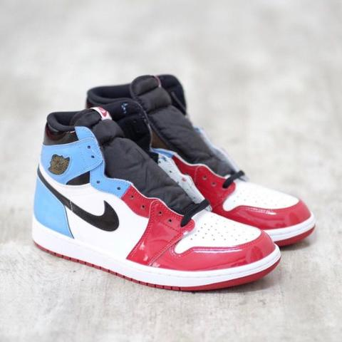 Nike AirJordan 1 High Fearless Unc To Chicago 100% Authentic