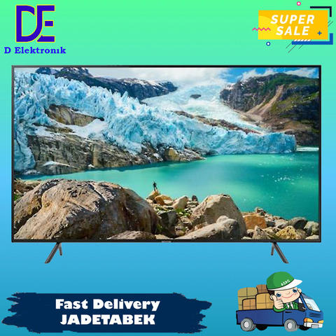 Promo Led Tv Samsung 50 Inch UA50RU7100 50RU7100 Ultra HD 4K Smart Tv