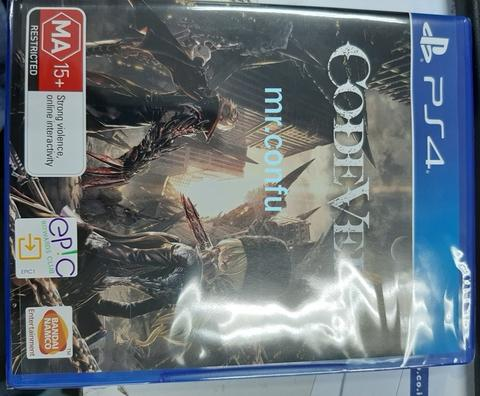 PS4 Code Vein Reg 4 (New Sealed)