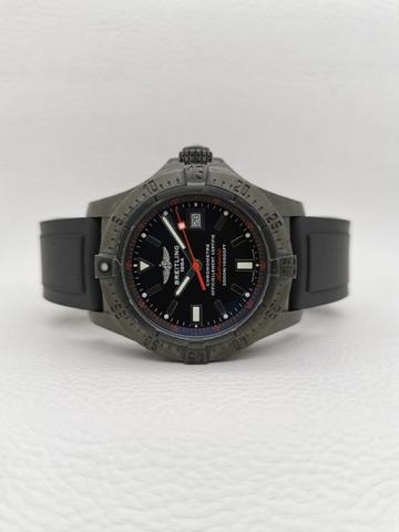 Breitling Avenger Seawolf Code Red Blacksteel Limited Edition 1000 pcs