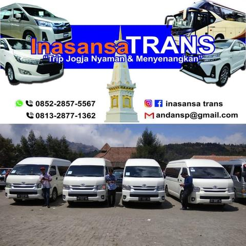 Ready Trip City Tour Jogja New Avanza New Innova by Inasansa Trans
