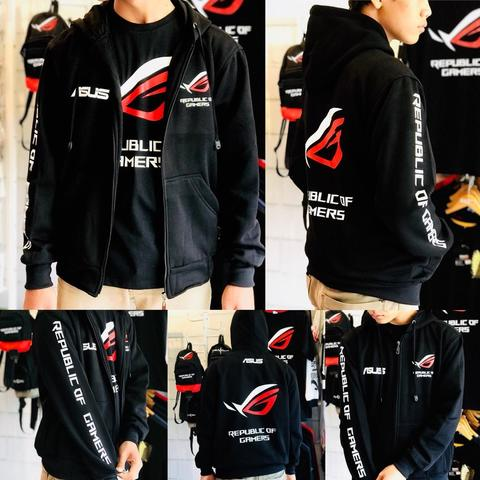 JAKET GAMING REPUBLIC OF GAMERS (ROG)