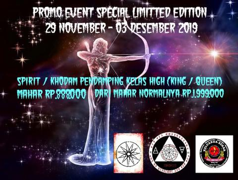 PROMO EVENT SPECIAL LIMITTED EDITION