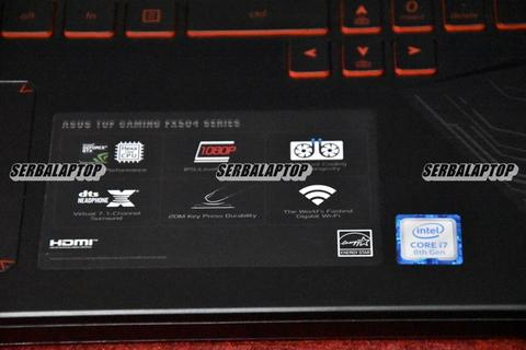 Laptop Asus TUF FX504GD | Core i7-8750H | GeForce GTX 1050 16GB SSD 128GB FHD Malang