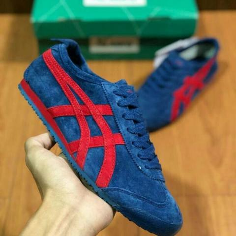 Onitsuka Tiger Mexico 66 Midnight Red Full Suede