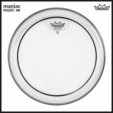 "Remo PS-1322-00 (Drum Head, Pinstripe Clear Bass, 22"", 2 Ply, 14 Mil, Fat Sound)"
