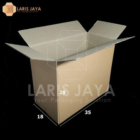 Kardus / Box / Karton / Kotak Packing 35 x 18 x 28 cm