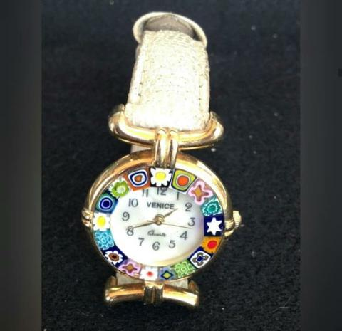 Venice Murano Millefiori Original Watches Girl