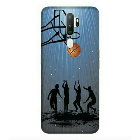 Play Basketball Oppo A5 2020 Custom Hard Case