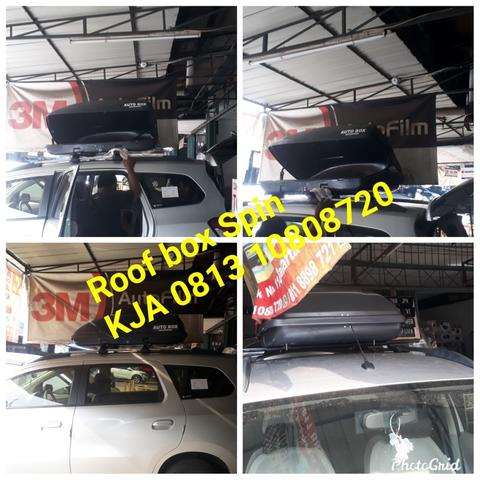 ROOF BOX CHEVROLET SPIN