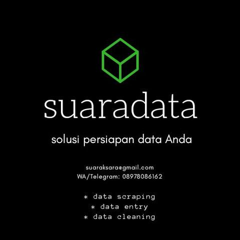 Jasa scraping, entry dan cleaning data