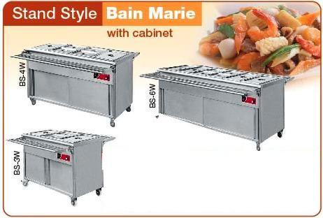 STAND STYLE BAIN MARIE BS 3W