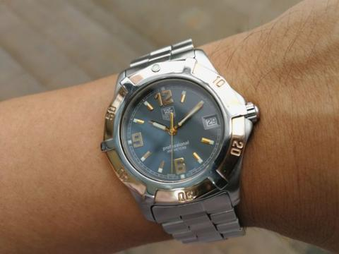 Ori 2000s Tag Heuer 2000 Exclusive two tone 18k Rose Gold grey ghost dial Omega rolex