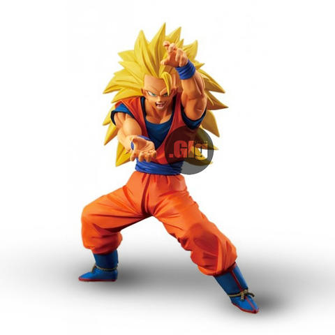 Action Figure Son Goku Super Saiya 3 Dragon Ball Super. Asli Bandai.!!