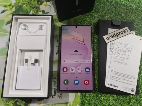 Samsung Galaxy Note 10+ Plus 256gb Aura White Duos Global COD Bandung