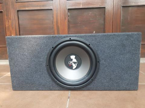 Car Audio Set Subwoofer + Power